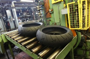Continental tyre factory