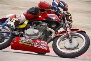 Honda CB350 race tyres