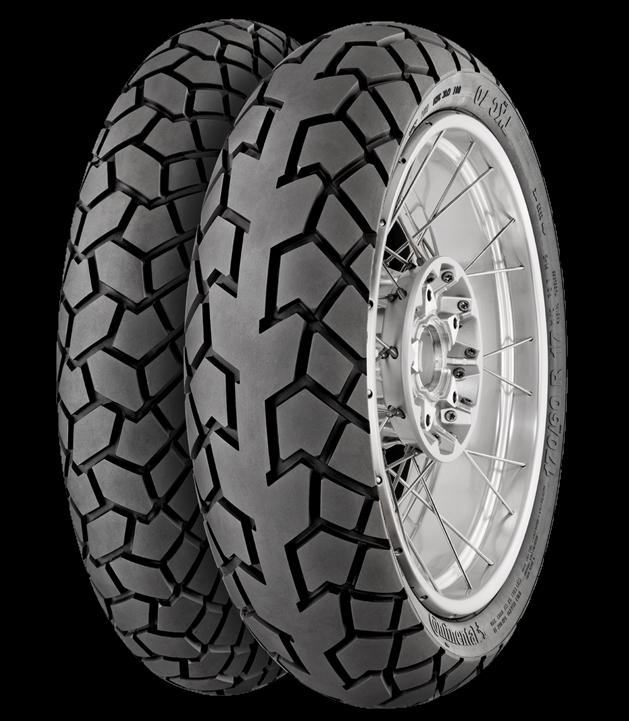 KTM 1050 Adventure tyre review