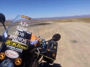 AJs Ride for Rhinos