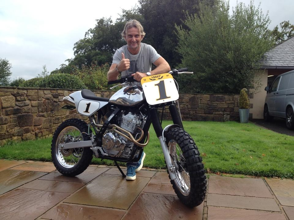 Carl Fogarty Dominator Scrambler