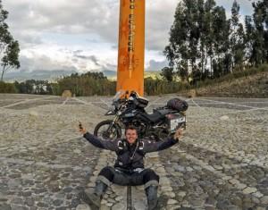 Ecuador Equator Marker