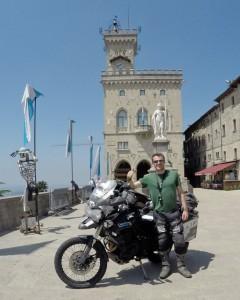 Rhys Lawrey 2moro Rider Triumph