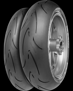 treaded motorcycle race tyres for Thundersport
