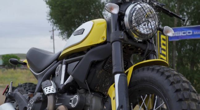 Just How Off Road Can You Go On A Modern Day Scrambler