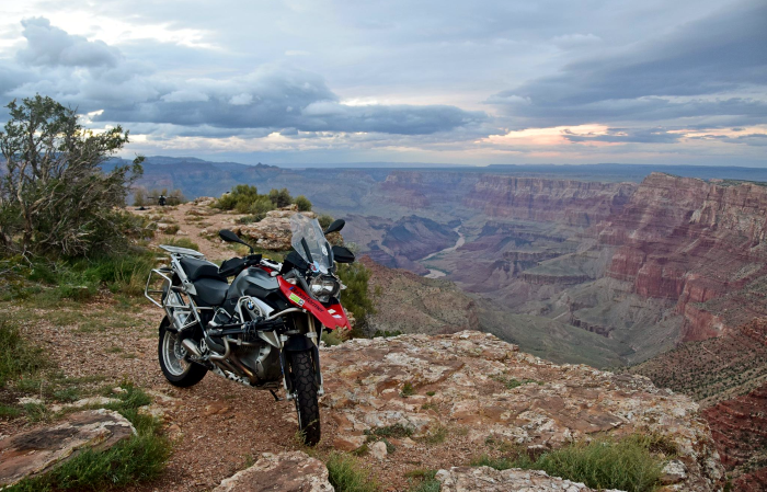 Riding your own motorcycle in America