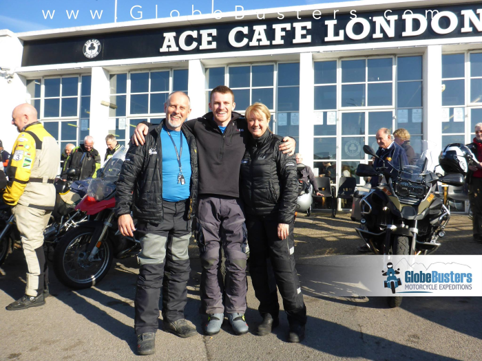 Ace Cafe Adventure Bike Day
