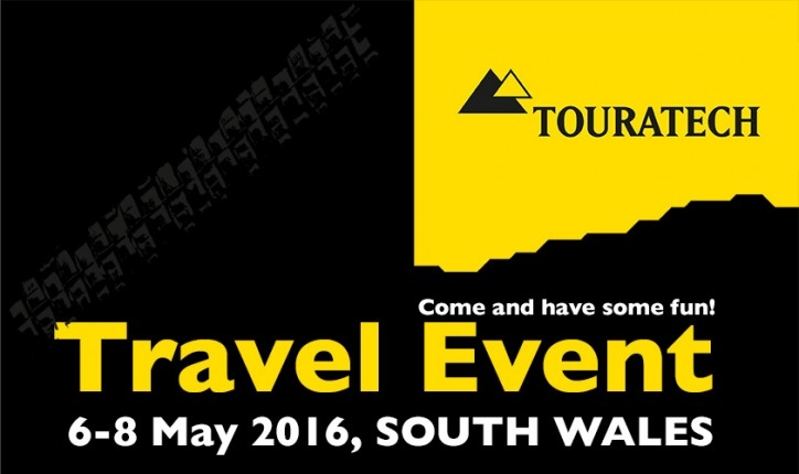 Touratech Travel Show Wales May 2016