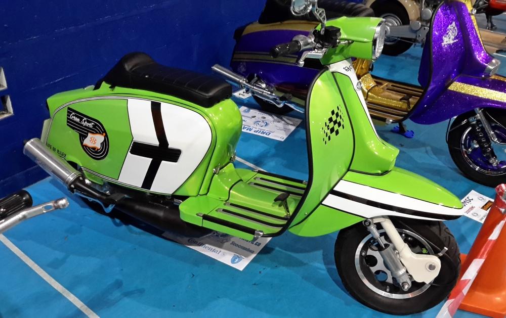 Vintage Motor Scooter Club Extravaganza 2016