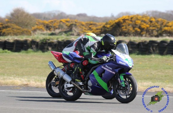 Andrew Dudgeon Andreas Racing Jurby
