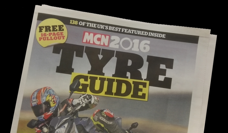 Continental motorcycle tyre review