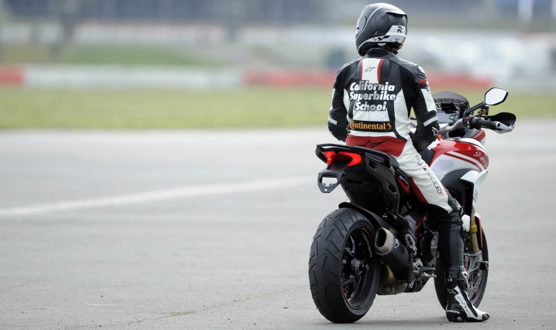 California Superbike School tyres