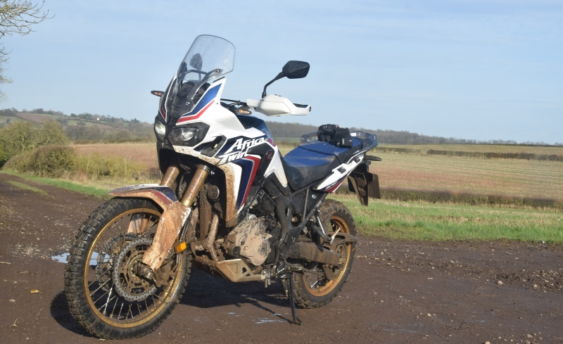 Nathan Millward Africa Twin review