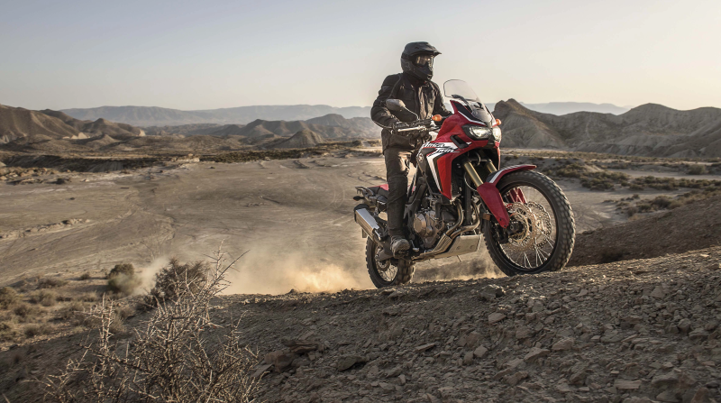 Honda Africa Twin off-road tyres
