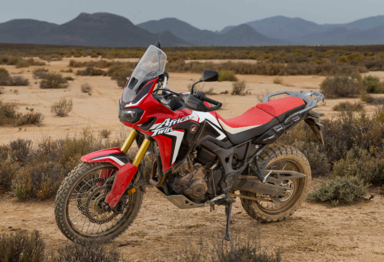 Honda Africa Twin off-road tyres UK