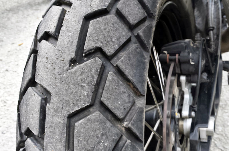 Best adventure motorcycle dual sport tyres