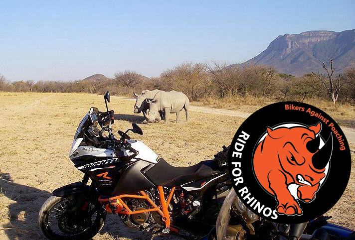 Alex Jackson Ride for Rhinos