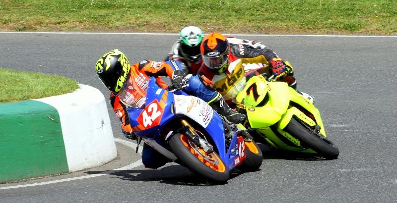 Steve Moody Dilligaf Racing EMRA Mallory Park