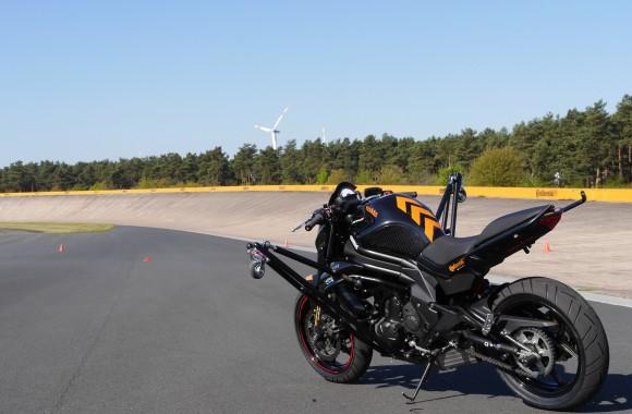 Lean Angle Training Motorcycle, Schräglagentrainingsbike,
