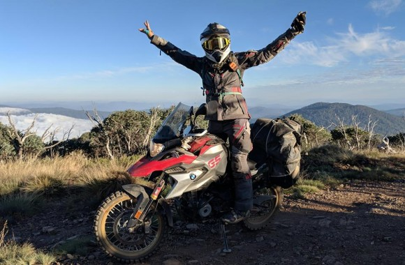 Amy Harburg BMW G310GS GS Trophy 2018
