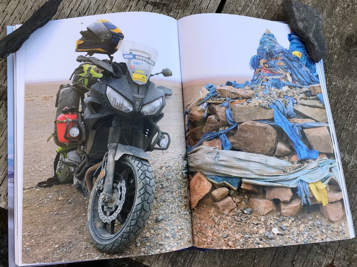 Nick Sanders Mongolia Book