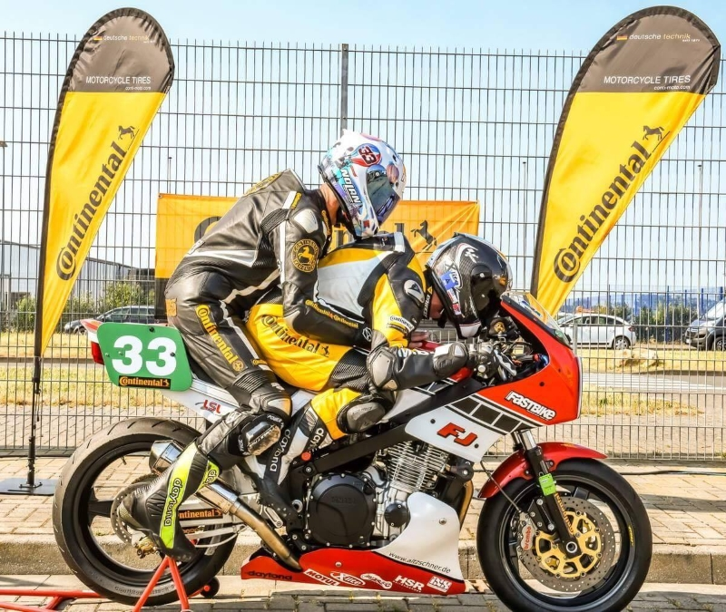 Continental Tyres FJ1300 race bike