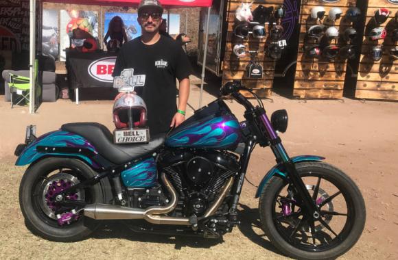 Andrew Huerta Harley-Davidson Lowrider