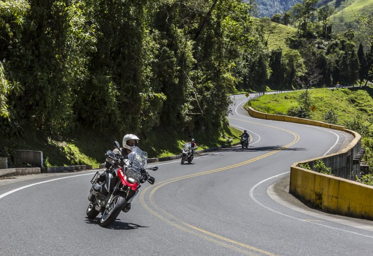 Ride your motorcycle in Colombia