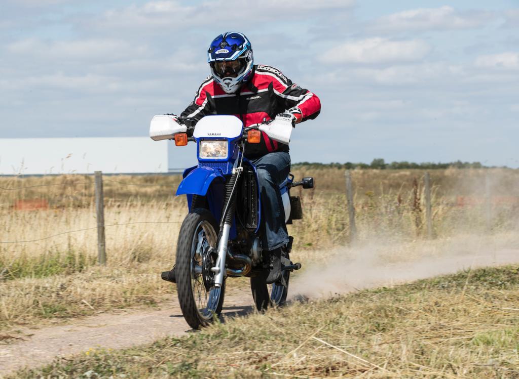 Yamaha DT125 TKC 80 review