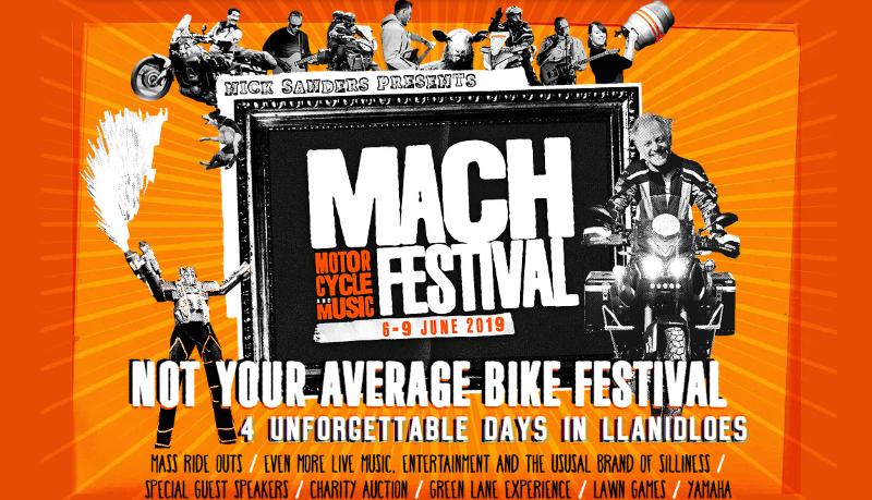 MACH 4 Nick Sanders festival