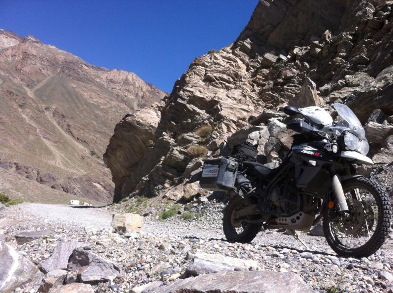 Motorcycle Tajikistan