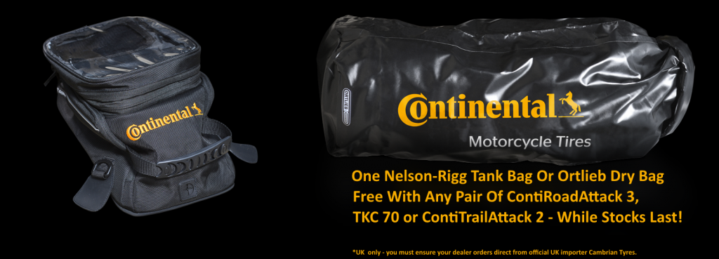 Continental dry bag offer
