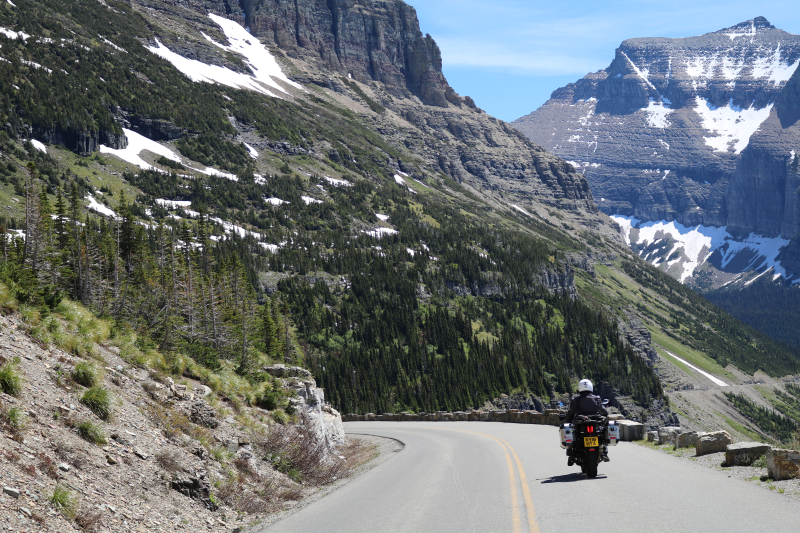 GlobeBusters guide rocky mountains by motorcycle