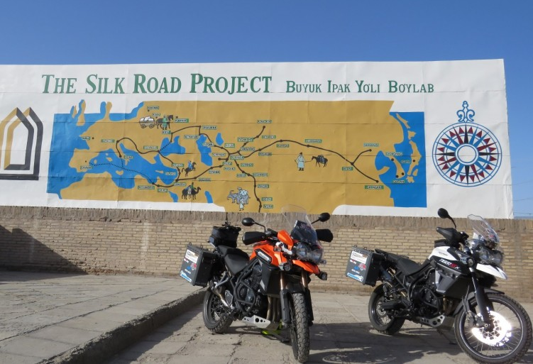 GlobeBusters Silk Route