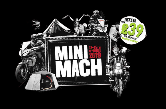 Nick Sanders Mini Mach 2019